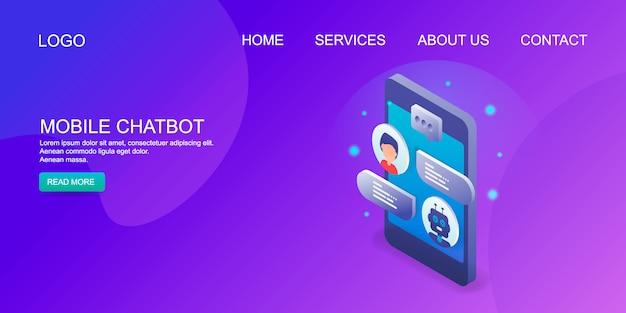 Mobile chatbot