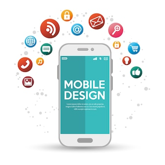 Mobile design with various application