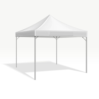 Mobile marquee tent for trade show.
