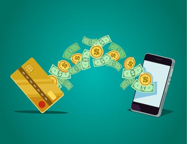 Мобильный платеж.