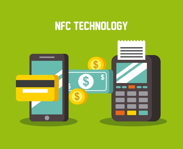 Mobile payments using smartphone dataphone terminal and credit card