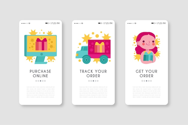 Mobile phone app for buying products online