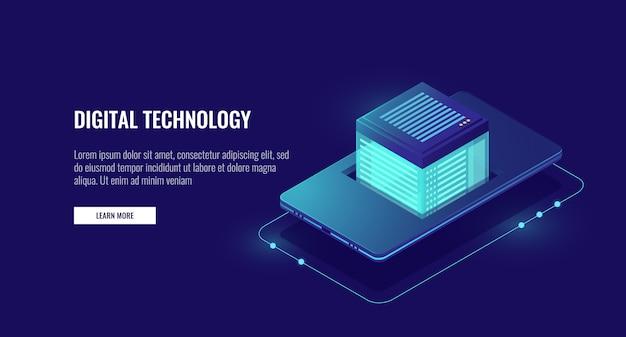 Приложение для мобильного телефона и облачное хранилище данных, защита личных данных