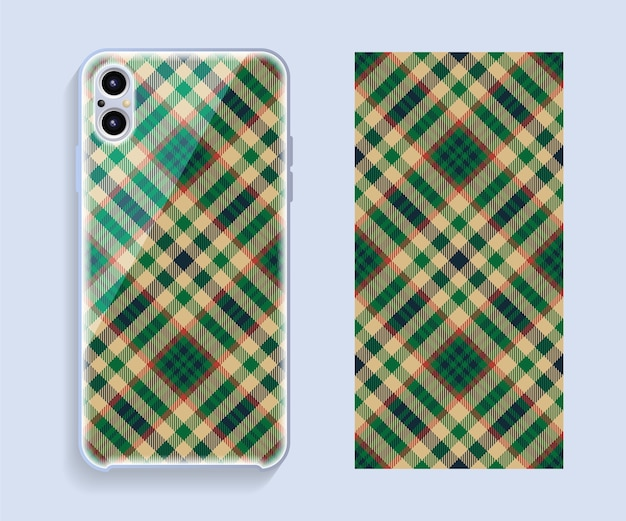 Mobile phone cover design.