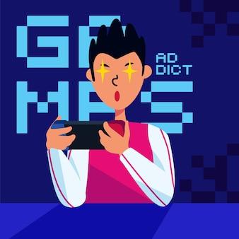 휴대 전화 게임 및 앱 중독