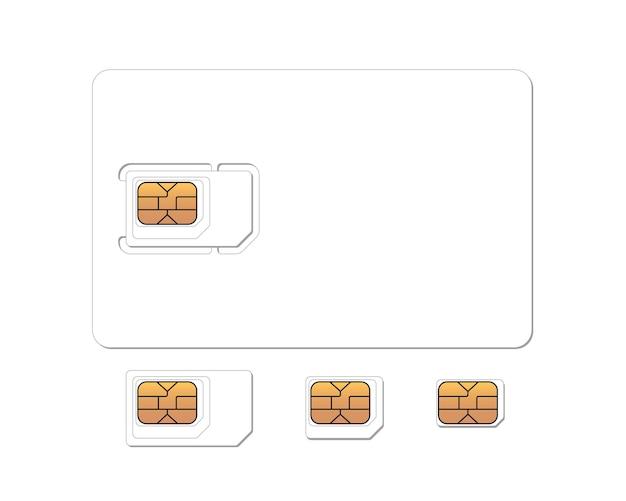 標準のマイクロおよびナノemvチップセットプラスチックカードブランク現実的な携帯電話gsmsimカード