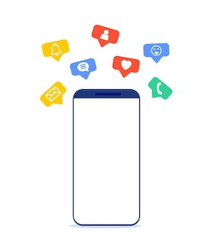 Mobile phone and push notification