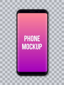 Mobile phone  template.