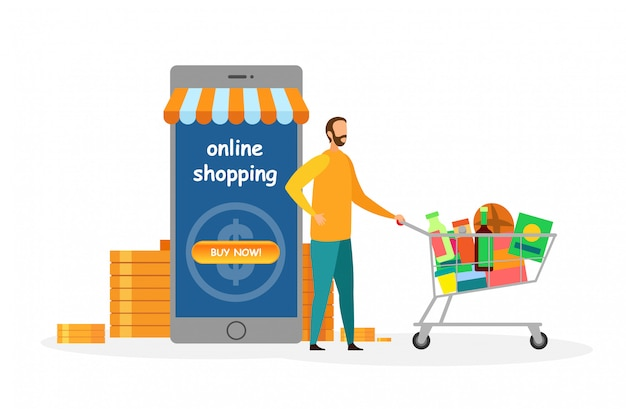 Mobile shopping application