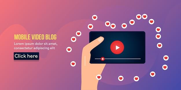 Mobile video blogging