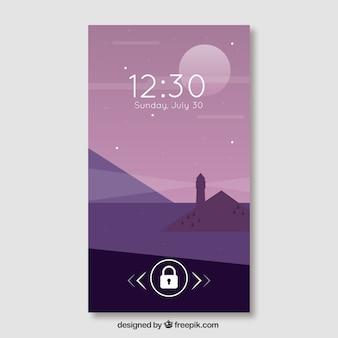 Мобильные обои с красивым пейзажем