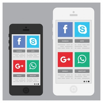 Mobiles with apps
