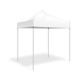 Mock up pop-up tent