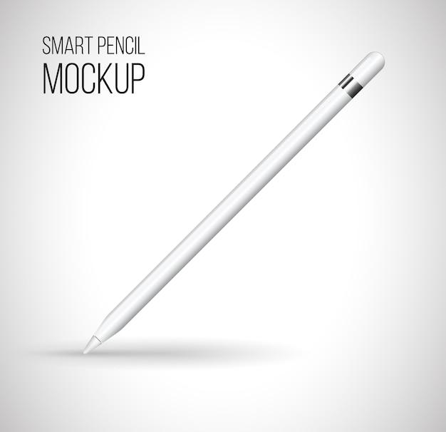 Mockup digital pencil