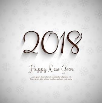 Modern 2018 new year bright background