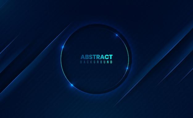 Modern 3d dark abstract clean background