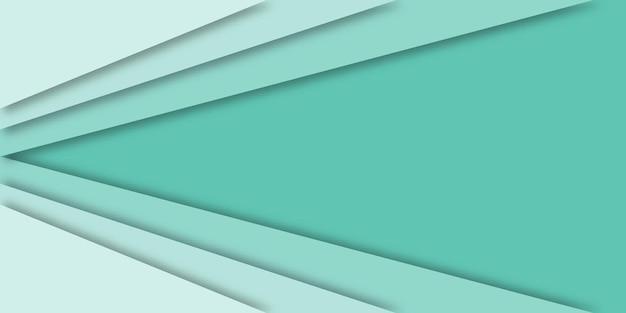Современные 3d геометрический фон с копией пространства.