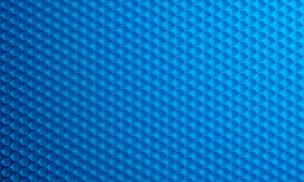 Modern 3d hexagon vector background.