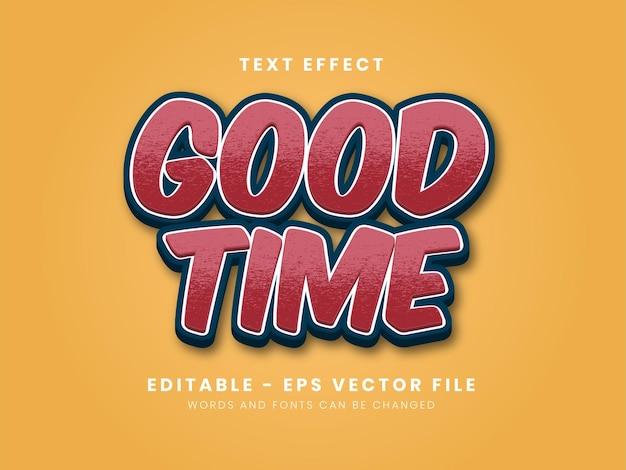 Modern 3d texture text effect