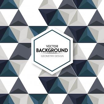 Modern 3D triangular abstract pattern background