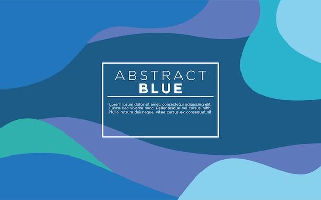 현대 abstact 파란색 배경