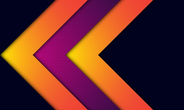 Modern abstract background black dop and colorful design