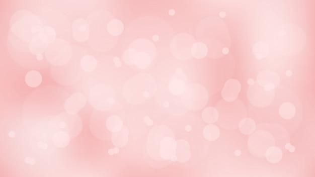 Современные абстрактные размытие фона или боке с элементами блеска, круги и мягкие пастельные тона