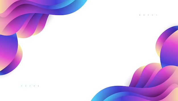 Modern abstract background design with colorful liquid shapes. fluid background design for landing page, theme, brochure, banner, cover, print, flyer, book, card or advertising