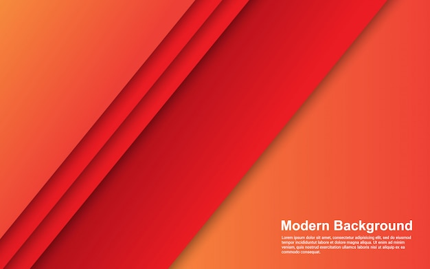Современный абстрактный фон оранжевый градиенты современного