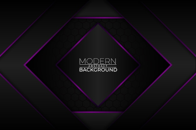 Modern abstract background purple style