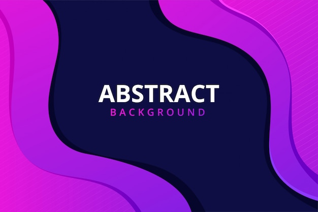 Modern Abstract Background Wallpaper In Vibrant Blue Purple Pink Purple Color Premium Vector