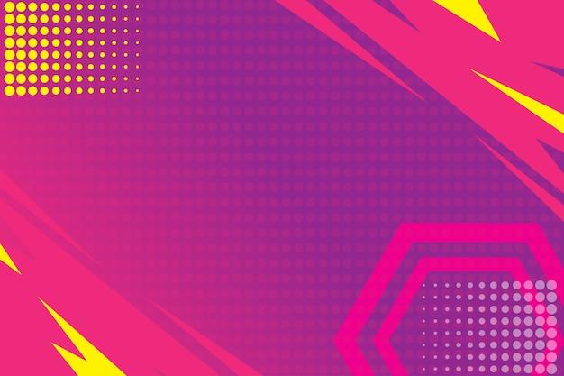 モダンな抽象的な背景の壁紙紫の幾何学的なグラデーションカラフル