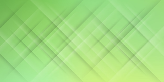 斜めの線またはストライプの要素とデジタル技術をテーマにした緑のパステルグラデーションでモダンな抽象的な背景。