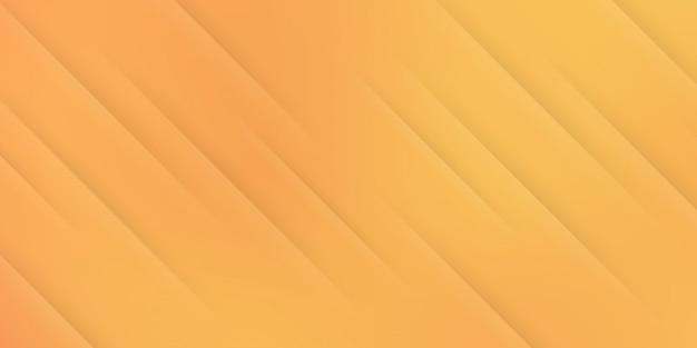 斜めの線またはストライプの要素とデジタルテクノロジーをテーマにした黄色のオレンジ色のパステルグラデーションのモダンな抽象的な背景。