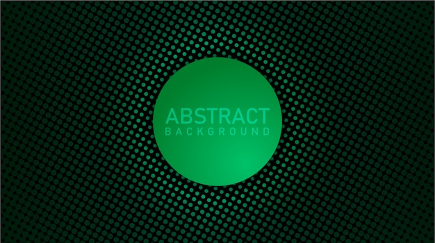 Modern abstract background with glowing dots
