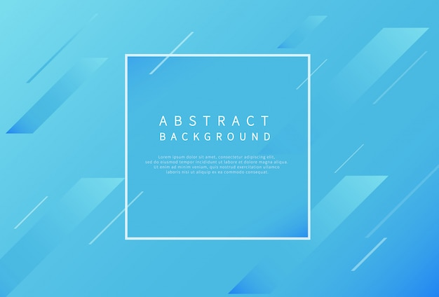 Modern abstract background with gradient blue.