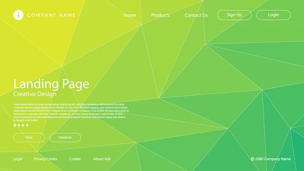 Современная абстрактная предпосылка с цветами градиента используя элементы мозаики треугольника.