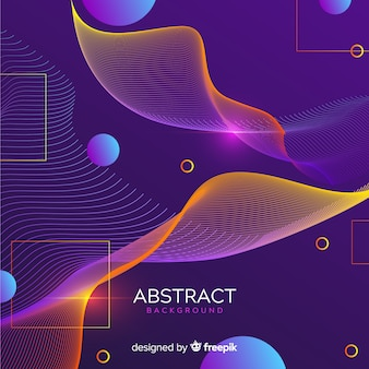 Modern abstract background with gradient style