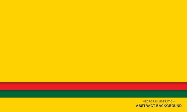 モダンな抽象的な背景黄緑と赤の色
