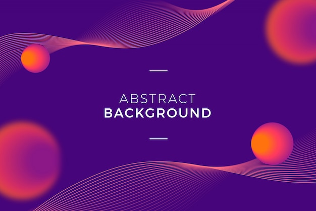 Modern and abstract background
