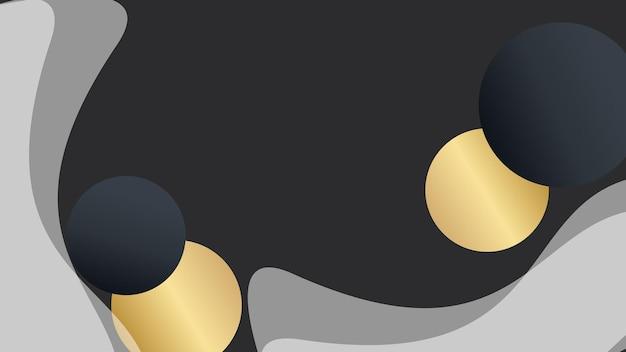 Современный абстрактный черный фон для презентации