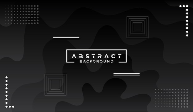 Modern abstract black background