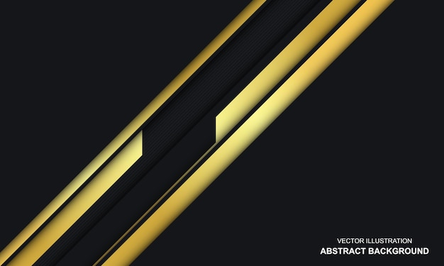 Modern abstract black and golden luxury background