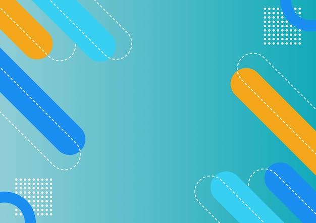 현대 추상 파란색 배경 템플릿