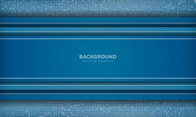 モダンな抽象的な青い背景