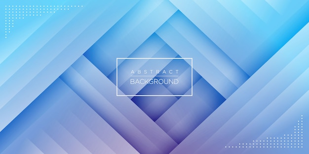Modern abstract blue geometric background