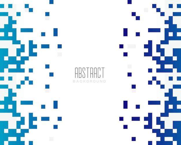 モダンな抽象的な青いピクセルの背景