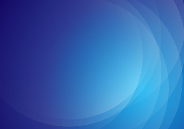Modern abstract blue wave background design