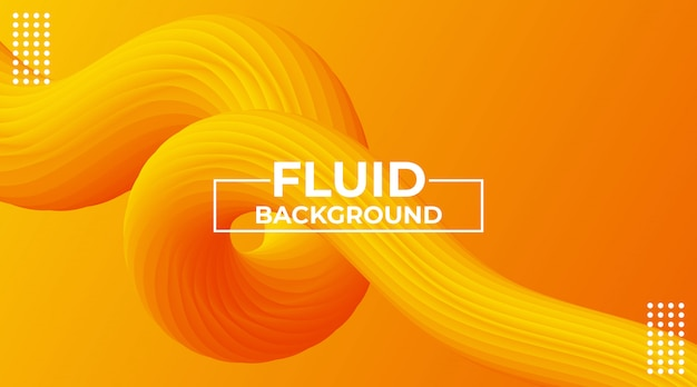 Modern abstract colorful dynamic 3d flow effect background