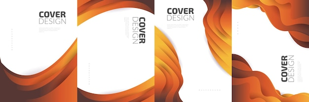 Современный абстрактный шаблон оформления обложки с красочными жидкими и жидкими формами. дизайн жидкого фона для титульной страницы, брошюры, баннера, обложки, буклета, печати, флаера, книги, открытки или рекламы